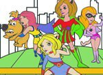 Colorir as Super Girls