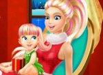 Decore a Casa da Barbie para o Natal