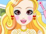 Jogo Ever After High Apple White no Dentista
