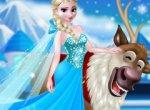 Frozen Elsa e Sven
