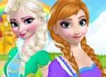 Frozen Maquie as Irmãs Elsa e Anna