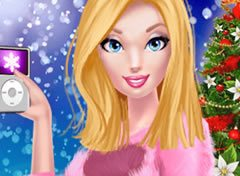Barbie o Look de Natal