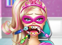 Barbie Super Princesa no Dentista