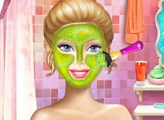 Barbie Tratamento Facial