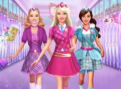 Barbie Uniforme Escolar