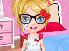 Bebê Barbie Look da Hello Kitty