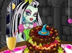 Bolo de Frutas Monster High
