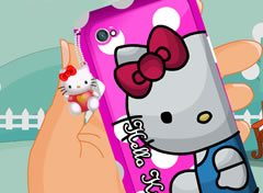 Capa de Celular da Hello Kitty