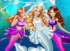 Casamento Da Barbie Sereia Jogos Online De Menina
