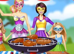 Churrasco da Barbie Super Princesa
