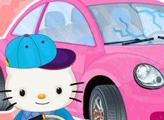 Conserto do Carro da Hello Kitty