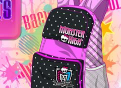 Decore a Mochila Monster High