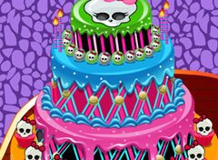 Decore o Bolo Monster High