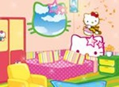 Decore o Quarto da Hello Kitty