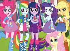 Equestria Girls Números Escondidos