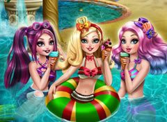 Ever After High Festa na Piscina