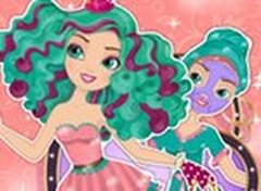 Ever After High Madeline Hatter Limpeza de Pele