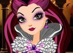 Ever After High Maquiagem da Raven Queen