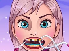 Frozen Anna no Dentista