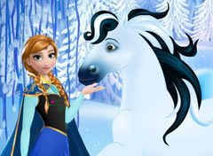 Frozen Cuide do Cavalo da Anna