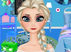Frozen Elsa Decorando o Quarto