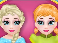 Frozen Elsa e Anna no Dentista