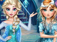 Frozen Elsa e Anna Rivais Fashion