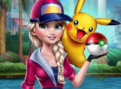 Jogo Frozen Elsa Pokémon Go