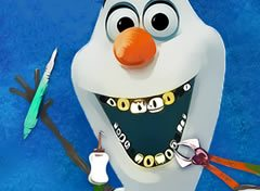 Frozen Olaf no Dentista