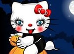 Hello Kitty Estilo Halloween