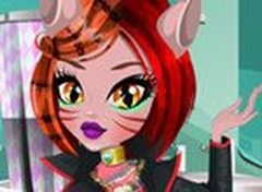 Limpeza de Pele com Monster High Toralei