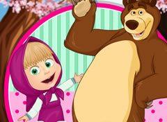 Masha E O Urso De Ferias Jogos Online De Menina