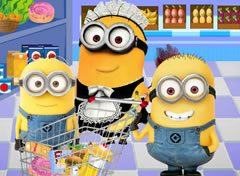 Minions Compras no Shopping