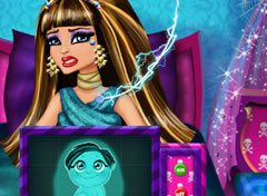 Monster High Cleo e o Bebê