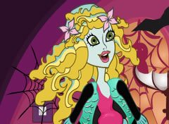 Monster High Lagoona Limpando a Casa