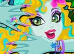 Monster High Lagoona Manicure