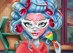 Monster High Maquiagem da Ghoulia Yelps
