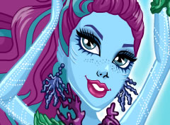 Monster High Posea Reef A Assustadora Barreira de Coral