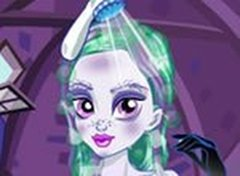 Monster High Twyla Peteado e Facial