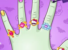 Monster High Unhas Criativas