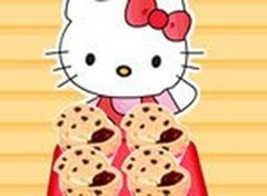 Muffins de Geléia da Hello Kitty
