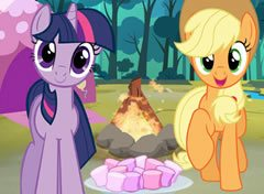 My Little Pony Acampamento