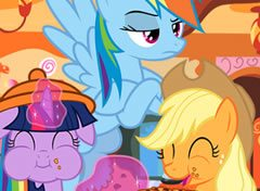My Little Pony Mundo dos Doces