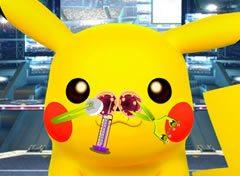 Pokémon Pikachu Problemas no Nariz