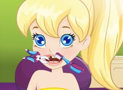 Polly Pocket com Problemas nos Dentes