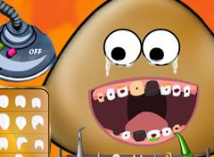 Pou Bichinho Virtual no Dentista