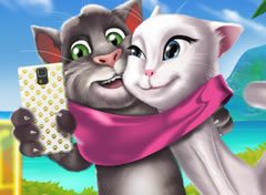 Selfie Tom e Angela