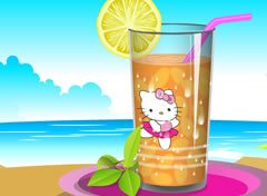 Suco da Hello Kitty