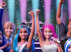Trinca do Filme Barbie Rock n Royals