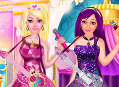 Vista Barbie a Princesa e a PopStar